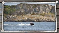 Jetski (2) (andantheandanthe) Tags: jetski jet ski water rocks speed speedy family waves
