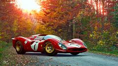 1967 Ferrari 330 P4 (chumako@bellsouth.net) Tags: granturismo cars scapes gtsport gaming ps4 playstation autumn red p4 330 330p4 ferrari