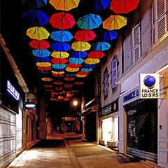 Les Parapluies d'Aurillac (pom'.) Tags: panasonicdmctz101 august 2018 cantal auvergne auvergnerhônealpes massifcentral 15 100 200 france europeanunion aurillac umbrellas franceloisirs 300