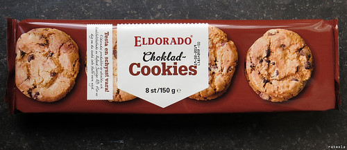 20180811 Vegan chocolate chip cookies of an extra-cheap generic brand :9 | Sweden