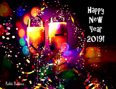 NYE 2019 (brillianthues) Tags: holiday new year glasses colorful collage photography photmanuplation photoshop s w it i