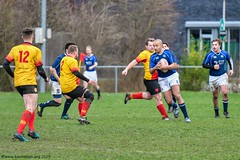 K1D10912 Amstelveen ARC2 v Rams RFC (KevinScott.Org) Tags: kevinscottorg kevinscott rugby rc rfc amstelveenarc ramsrfc apeldoorn 2019