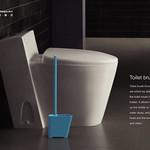 Toilet brush and holder setの写真