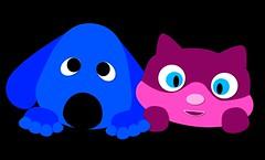 COMME CHIEN ET CHAT (dimkaone_designs) Tags: drôle cool chien félins animal de compagnie chat mignon comic enfants famille comme fun adorable