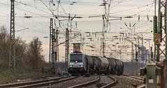 09_2019_02_06_Gelsenkirchen_Bismarck_6185_678_Rpool_mit_Kesselwagenzug ➡️ Herne_Abzw_Crange (ruhrpott.sprinter) Tags: ruhrpott sprinter deutschland germany allmangne nrw ruhrgebiet gelsenkirchen lokomotive locomotives eisenbahn railroad rail zug train reisezug passenger güter cargo freight fret bismarck akiem cww db de eh erd nrail pkpc rpool 0275 0632 1202 1203 1265 1275 5370 6155 6185 6186 6187 6189 6193 9263 9425 lkw captrain dortmundereisenbahn sandzug abzwcrange dortmund bottropsüd dorsten logo natur outdoor graffiti