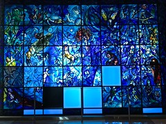 Chagall at the United Nations (phxdailyphotolady) Tags: photostream chagall glass art unitednations newyork