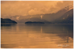 Lago Mascardi Patagonia, Argentina. (alejaviveg) Tags: nubes atardecer sinset agua water lake lago patagonia paz tranquilidad calma suavidad