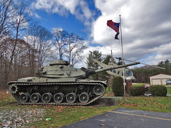 Land & Air (George Neat) Tags: stoystown somerset bell uh1 iroquois huey helicopter tank m60 american flag oldglory patriotism veterans memorial vehicles military pa pennsylvania clouds scenic landscapes georgeneat patriotportraits neatroadtrips laurelhighlands