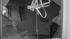 Rise (Fotophanat) Tags: black white monochrome abandoned devastated rise