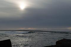 Sundown over the north jetty (Randy Gardner 88) Tags: jetty northjetty humboldt humboldtcounty humboldtcountycalifornia humboldtbay pacificocean pacificcoast pacific fairhaven water ocean sunset