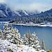 Storm Receding, Tioga Lake, Yosemite 5-15
