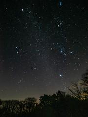 Winter Hexagon (Mutchi627) Tags: winter hexagon star constellation orion gemini geminids night plateausatomi ibaraki japan