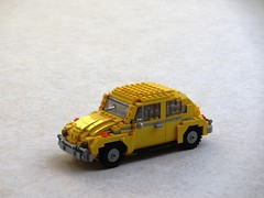 Bumblebee 2018 transformation (Mad physicist) Tags: lego transformer bumblebee movie volkswagen 2018