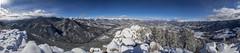 Lilly Mountain Panorama (noname_clark) Tags: rockymountainnationalpark outdoor hike snow lillymountain panorama mountain