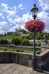 Würzburg (oliver.kratzke) Tags: bavaria würzburg castle burg bridge brücke lamp altemainbrücke festungmarienberg