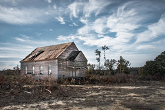 Palmyra Presbyterian Church and School, Established 1834 (kellimont) Tags: abandoned church oldchurch historical alabama alabamahistory schoolhouse abandonedplaces nikon nikon5600 nikond5600 nikonphotography churchphoto churchphotography landscape landscapephotography landscapephoto abandonedchurch