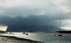 Storm over Gibraltar