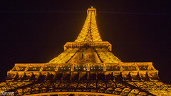 PARIS 2018 (Francesc Farran) Tags: paris francia noche torre edificio amarillo luz