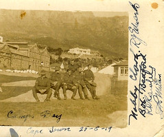 Anzacs in Cape Town, South Africa - 1919 (Aussie~mobs) Tags: campsbay capetown ww1 nobbyclark rrowley grmiller rjedwards bobbedford anzac soldier firstworldwar lestweforget 1919