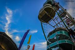 Traditional Ferris Wheel (dheimaz) Tags: ferriswheel landscape traditional indonesia cirebon playground
