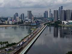 Sans titre 28 (Claude  BARUTEL) Tags: border causeway customs harbor harbour jam johorbaru malaysia port singapore trafficjam transport truck trucking