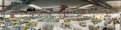 Perth Mail Centre panorama from top of FSM