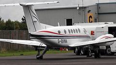 G-BVMA BEECHCRAFT B200 SUPER KING AIR (toowoomba surfer) Tags: aeroplane aircraft aviation ncl
