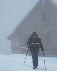 Finding Shelter (simeon_sk) Tags: 2018 bulgaria hike january korita mazalat snow uzana walk winter