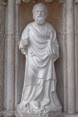 Sibenik (tonyplowman) Tags: croatia sibenik st james portal bonino da milano apostles