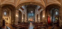 Iglesia de San Pablo-Interior-Valladolid (dnieper) Tags: iglesiadesanpablo interior valladolid spain españa panorámica