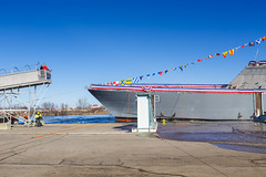 20181215_Y5A8633_m (LCS Team Freedom) Tags: 2018 christening lcs lcs19 launch littoralcombatship marinette shipyard stlouis usnavy usn wi wisconsin