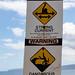 Current and Shorebreak warning, Makena Big Beach Maui Hawaii