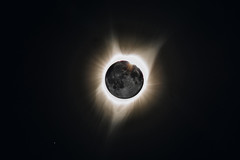 Eclipse (Dan LM) Tags: eclipse moon astrophotography astro night stars space halo