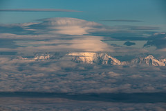 flying europe I (Rasande Tyskar) Tags: aerial luftbild flugzeug above from mountain alps alpen plane airplane window seat france frankreich europe mont blanc massiv massif berge wolken himmel