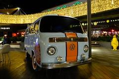 Volkswagen T2 (mesutsuat) Tags: fujifilm xt20 xf 1855 mm f28 night shot longexposure velvia film simulation istanbul turkey van citroen h hy vw volkswagen t2 hippie bus minibus piazza 1970s old