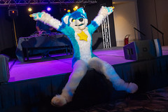 DSC09065 (Kory / Leo Nardo) Tags: pacanthro pawcon paw con pac anthro convention fur furry fursuit suiting mascot sona fursona san jose doubletree hotel california dance party deck animals costuming pupleo 2018