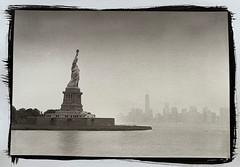 Liberty Island Print (Dennis_Ramos) Tags: alternativeprinting alternativeprocess platinumpalladium libertyisland newyork blackwhite fineart dennisramos