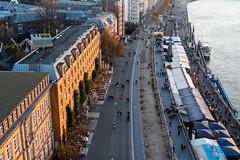 Düsseldorf - Am Rheinufer (KL57Foto) Tags: 2018 düsseldorf germany herbst kl57foto landeshauptstadt nrw nordrheinwestfalen omdem1 oktober olympus
