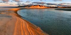 Ruakaka river. NZ (Bernard Spragg) Tags: sunset waterscape scenery river landscape lumix ruakaka