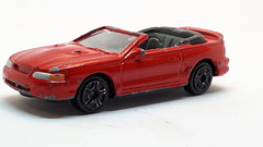 MOTORMAX 1998 FORD MUSTANG CONVERTIBLE NO2 1/64 (ambassador84 OVER 11 MILLION VIEWS. :-)) Tags: motormax fordmustangconvertible diecast ford