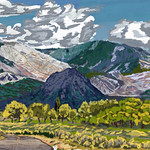 My Travel Paintings - Manti-La Sal National Forest and Mountains thumbnail