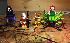 John was a Squaddie-- (Lord Allo) Tags: lego dc suicide squad deadshot nightshade bronze tiger poison ivy