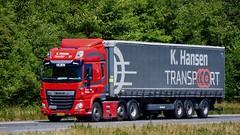 BX28544 (18.06.27, Motorvej 501, Viby J)DSC_2795_Balancer (Lav Ulv) Tags: 253112 daf dafcf cf106 cf430 cfeuro6 e6 euro6 red khansentransport curtainside planentrailer gardintrailer 2018 6x2 kronetrailer truck truckphoto truckspotter traffic trafik verkehr cabover street road strasse vej commercialvehicles erhvervskøretøjer danmark denmark dänemark danishhauliers danskefirmaer danskevognmænd vehicle køretøj aarhus lkw lastbil lastvogn camion vehicule coe danemark danimarca lorry autocarra danoise vrachtwagen trækker hauler zugmaschine tractorunit tractor artic articulated semi sattelzug auflieger trailer sattelschlepper vogntog oplegger sættevogn motorway autobahn motorvej vibyj highway hiway autostrada