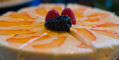 Orange delight! (J.R. Rondeau) Tags: rondeau yellowknife nt explorerhotel desserts cake food christmas xmas brunch canoneos canon50mmf18 photoshopelements10