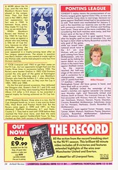 Liverpool vs Blackburn Rovers - 1991 - Page 24 (The Sky Strikers) Tags: liverpool blackburn rovers fa cup road to wembley the anfield review one pound