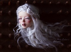 Adreena 👻 (pure_embers) Tags: pure embers bjd sd 13 doll dolls normal skin ns uk citron bleu adreena girl citronbleu notdoll lab pureembers embersadreena head photography photo ball joint resin marlequeen faceup portrait dark story floating ghost surreal