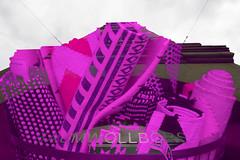 Von der Rolle (maywind72) Tags: baumwollbörse bremen doppeltbelichtung farbfilter fotomarathon mehrfachbelichtung pink