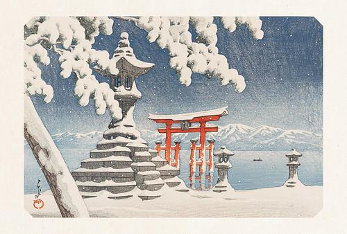 29-Carte postale // 10x15cm // Itsukushima