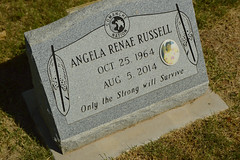 Only the strong will survive (radargeek) Tags: fortsill oklahoma 2018 august cemetery apache pow prisonerofwar indian nativeamerican fortsillindianagencycemetery headstone grave militarybase