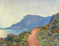 Monet landscape painting wall art